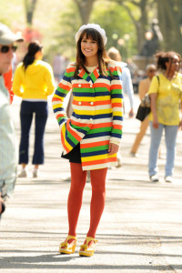 Lea Michels from the film Glee