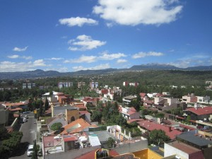 Airial view of Oaxaca