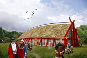 Reconstructed Viking Long-House